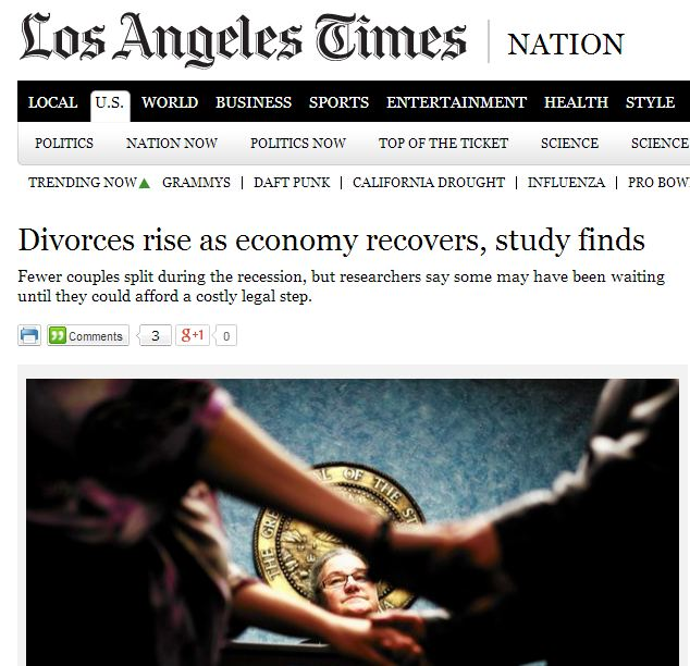 children of divorce research papers