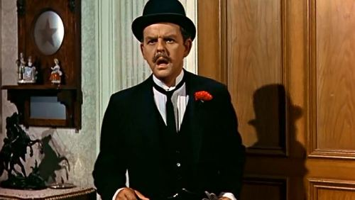 Mr. Banks from Mary Poppins.