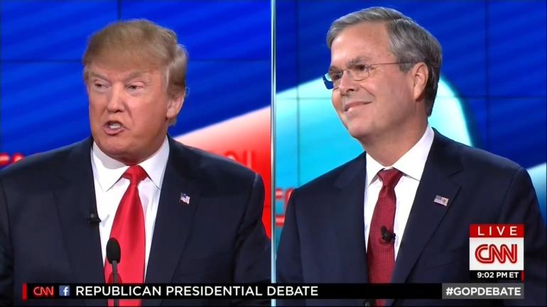 trump-bush-debate