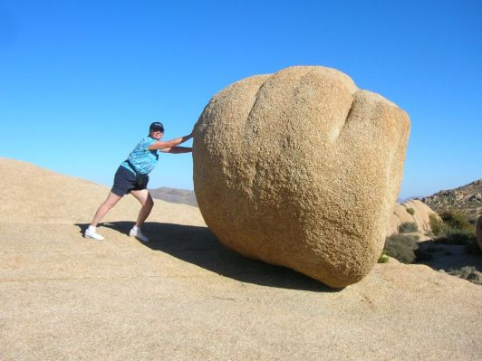pushingboulder