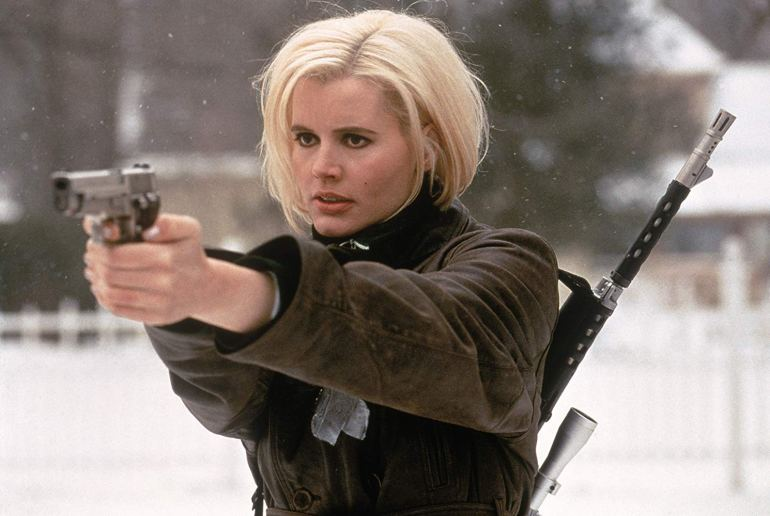 Geena Davis as Charly in The Long Kiss Goodnight, 1996
