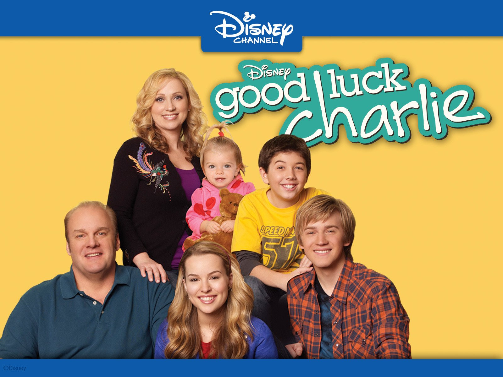 promo image from Disney show Good Luck Charlie